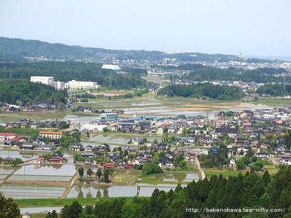 北条城跡頂上からの眺望その2