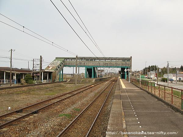 金塚駅の3番線その一
