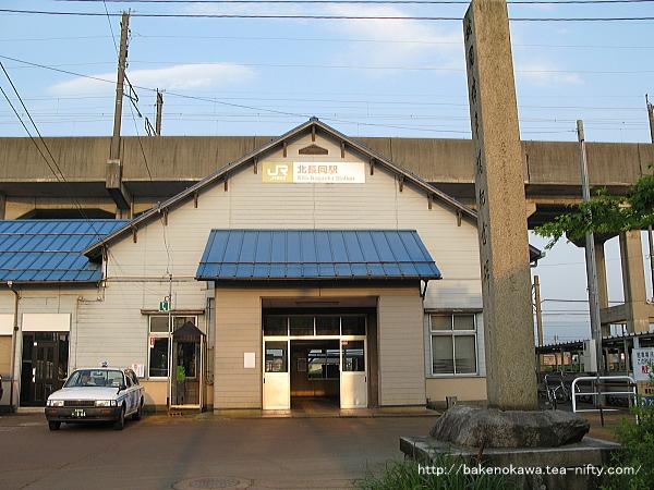 北長岡駅の旧駅舎その2