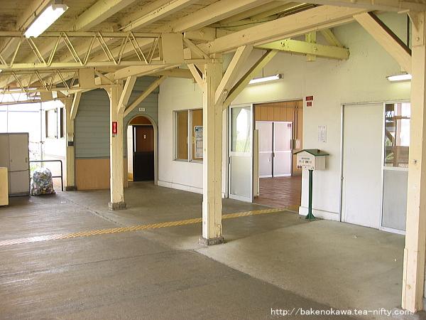 北長岡駅の旧駅舎内部その4
