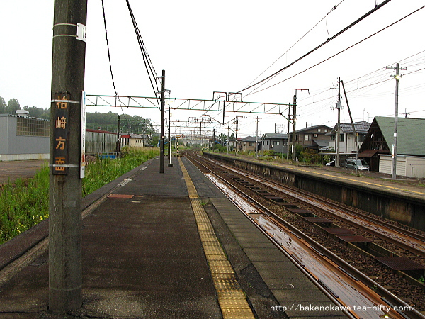来迎寺駅の1番ホームその3