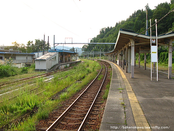 越後川口駅の島式ホームその6