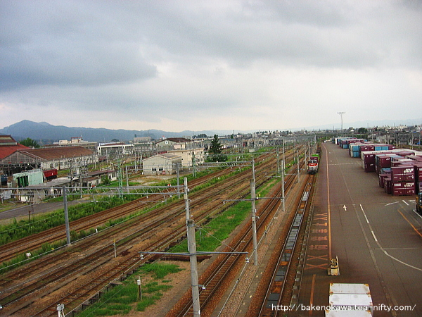 JR貨物の南長岡駅