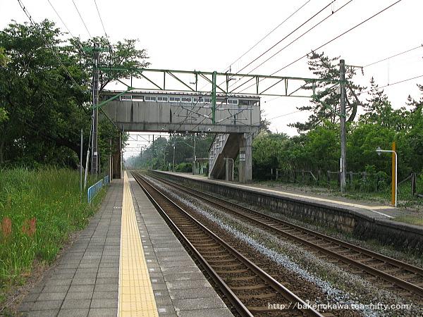 上下浜駅の上りホームその3