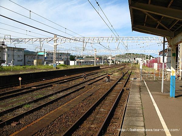 柏崎駅の1番線その4