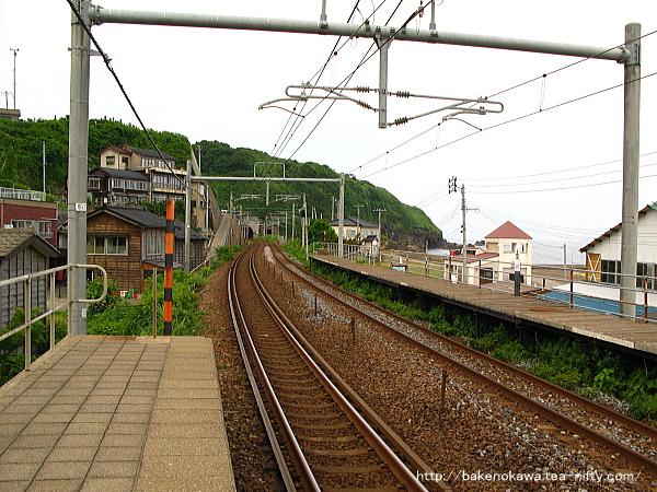 笠島駅の上りホームその5