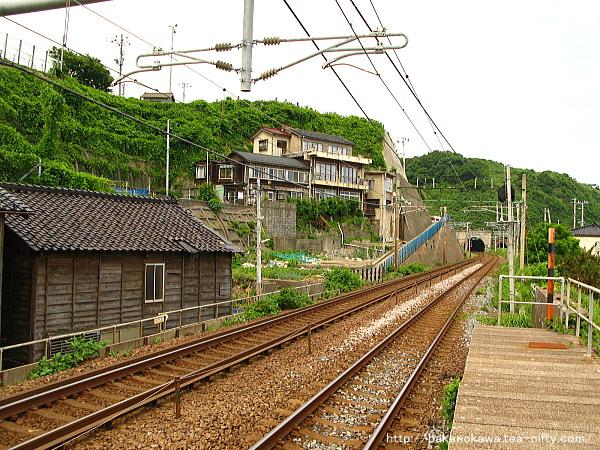 笠島駅の下りホームその5