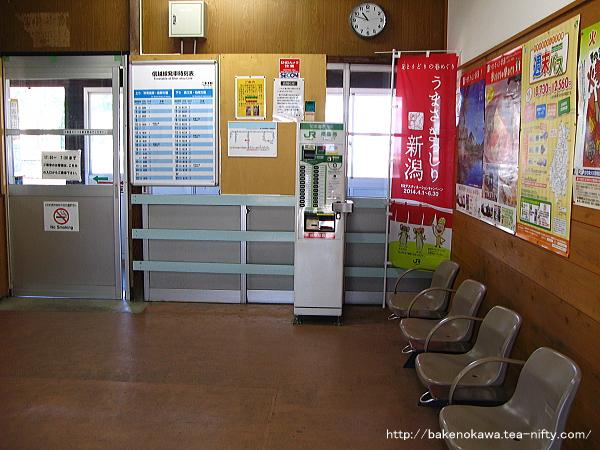 二本木駅駅舎内部その4