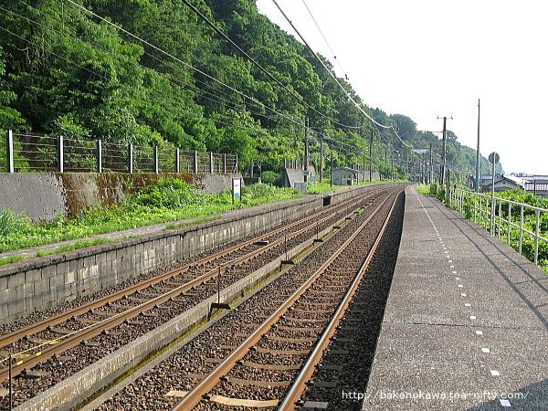 浦本駅の下りホームその3