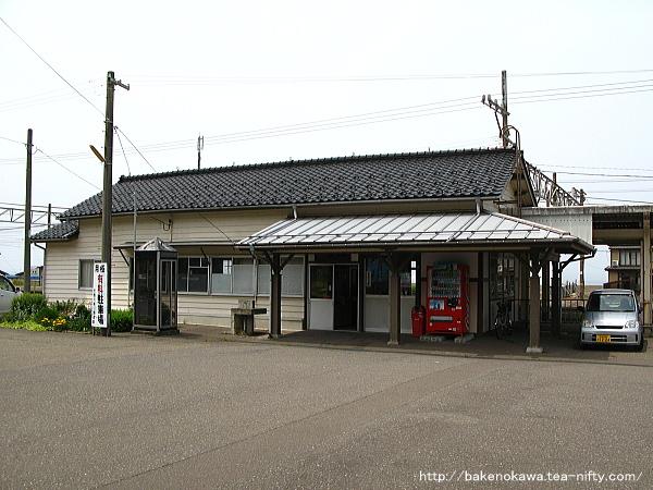 谷浜駅駅舎その1