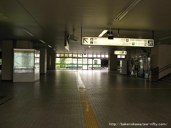 燕三条駅駅舎内部その1