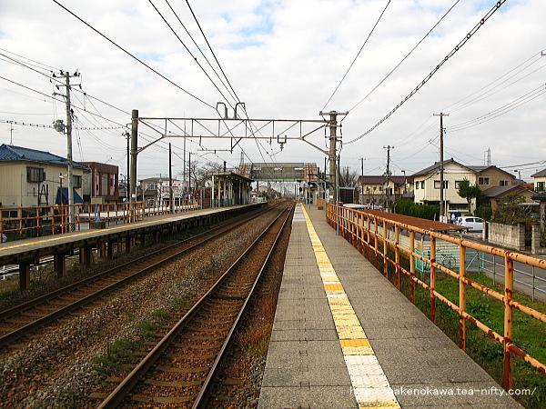 早通駅の2番ホームその1