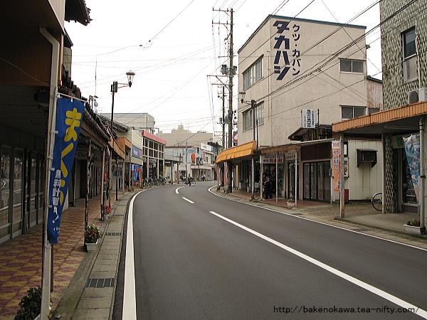 旧亀田町の中心商店街