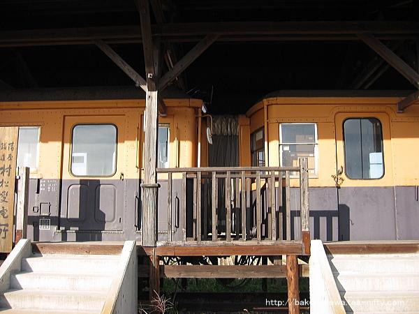 蒲原鉄道の電車モハ71