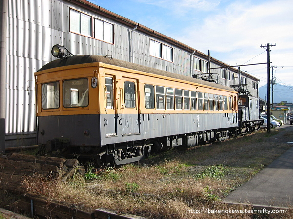 蒲原鉄道の電車モハ31