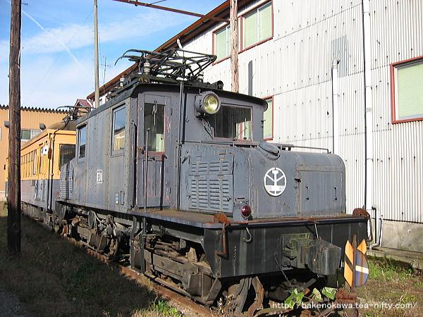 蒲原鉄道唯一の電気機関車、ED1形