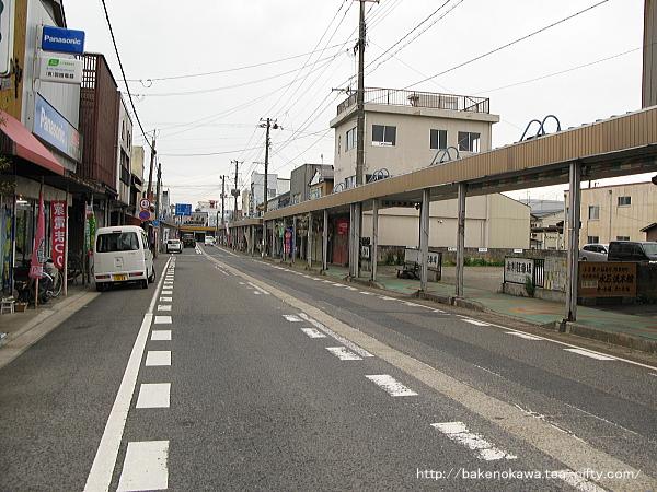 旧村松町中心街