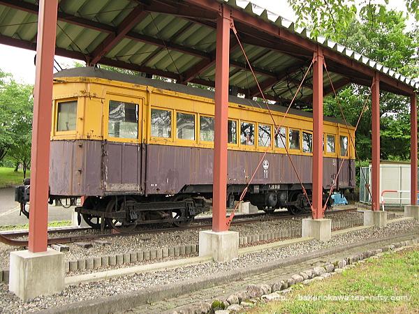 蒲原鉄道の電車モハ11その2