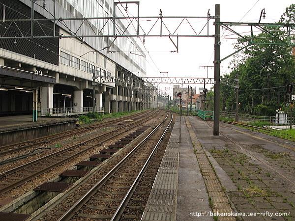 長岡駅の島式ホーム(4-5番線)その6
