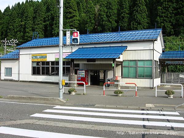 改築前の塚山駅駅舎