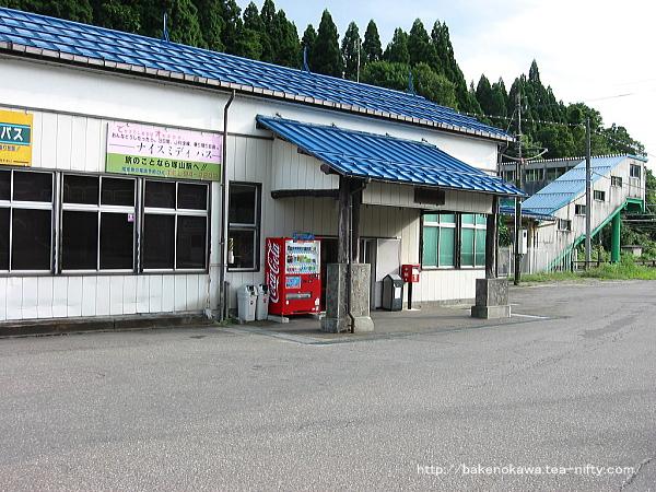 塚山駅の旧駅舎その2