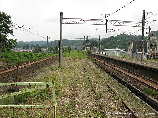 塚山駅の旧島式ホームその6