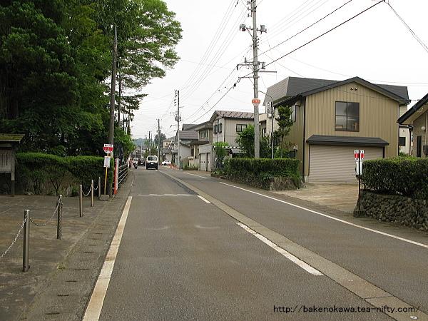 、「長谷川邸」の所在する旧塚山村中心部