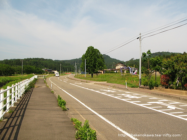春日山駅から春日山界隈への道のり