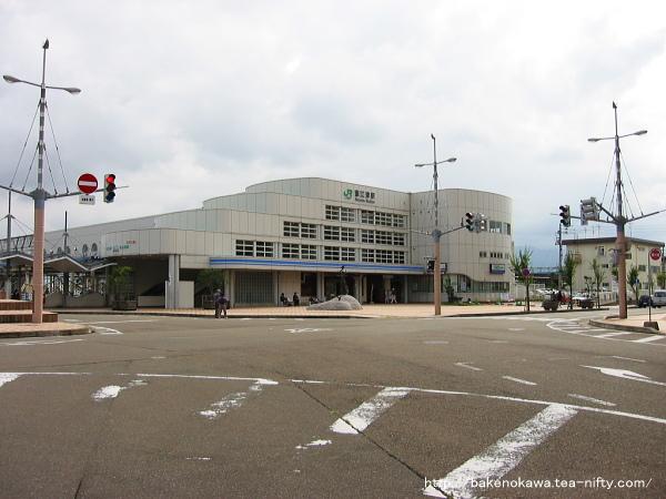 JR東日本管理下の直江津駅駅舎北口