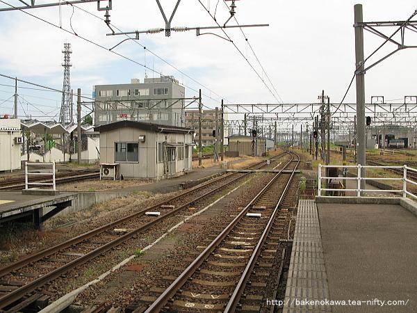 直江津駅の3-4番島式ホームその5