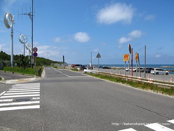 海岸沿いの道路その1