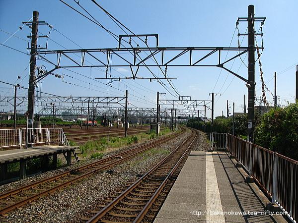 東新潟駅の1番線その4