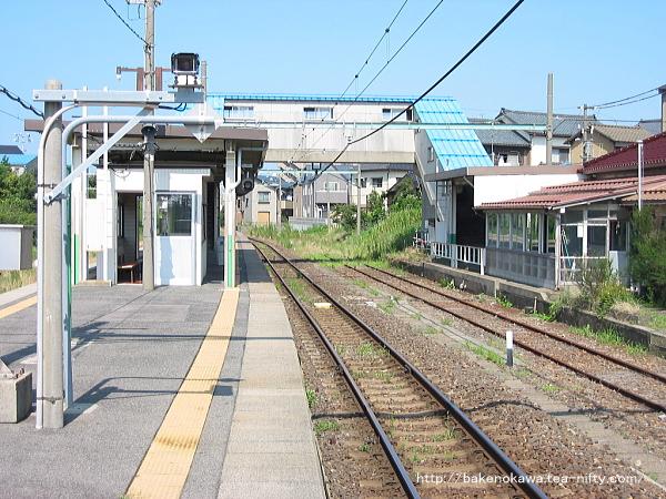 関屋駅旧駅舎内部その2