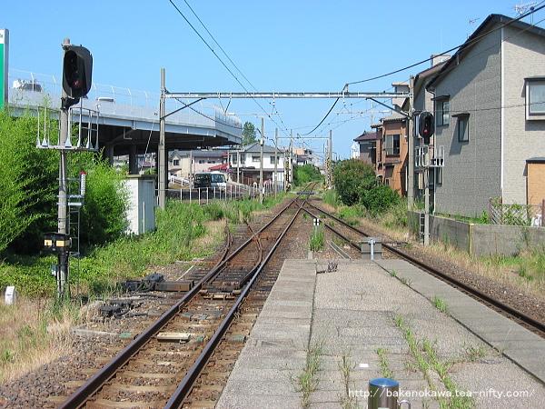関屋駅の旧構内その6