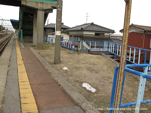 小針駅の1番線その5