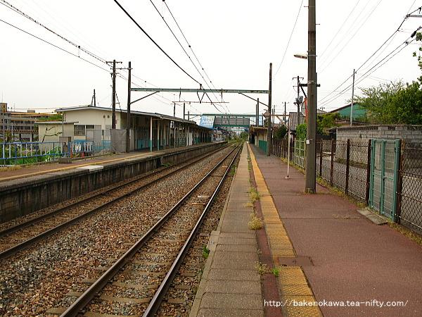 小針駅の2番線その1