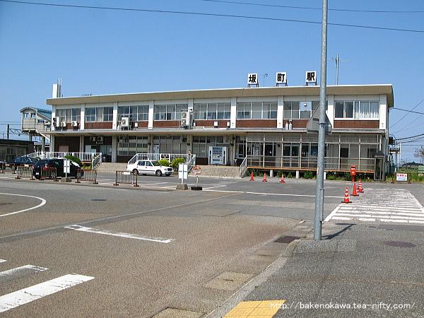 坂町駅駅舎その一