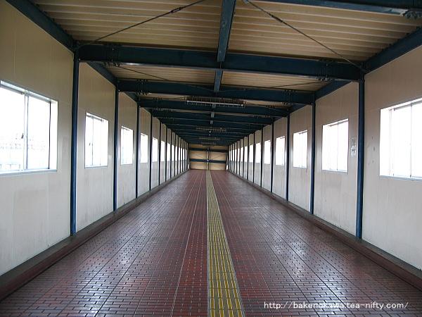 平成4年12月に竣工した中央連絡橋内部