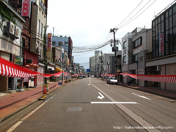 新津駅前通り