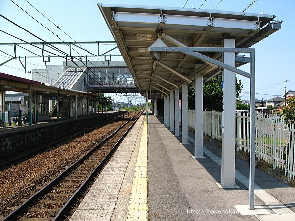 荻川駅の1番線その4