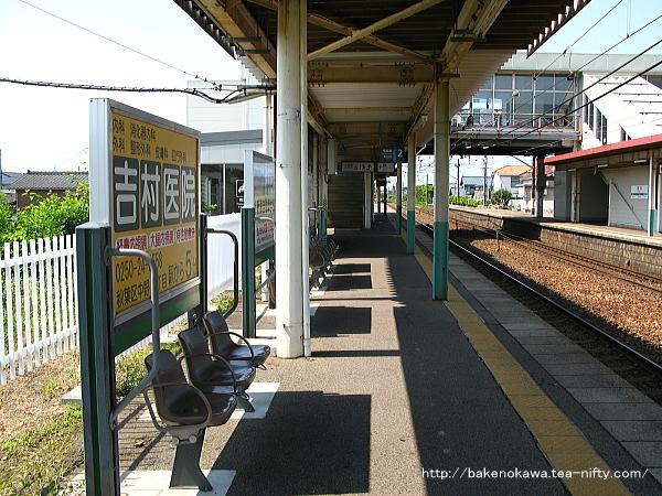 荻川駅の2番線その6