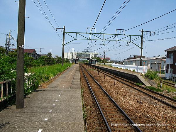 荻川駅の2番線その8