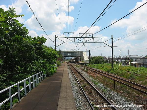 荻川駅の1番線その7