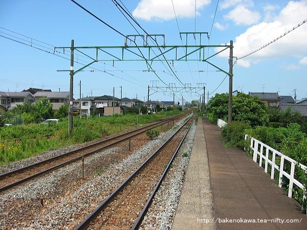 荻川駅の1番線その8