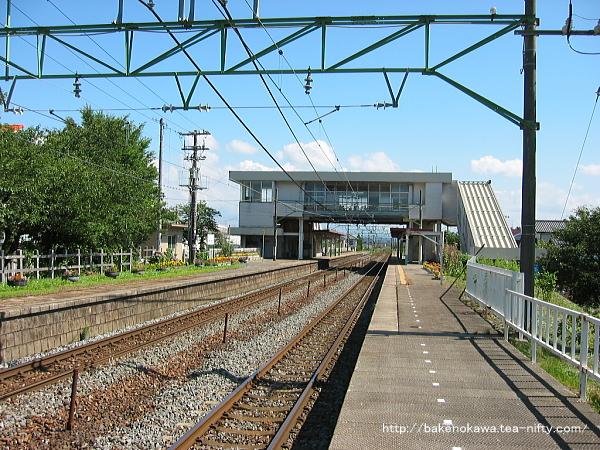 荻川駅の2番線その2