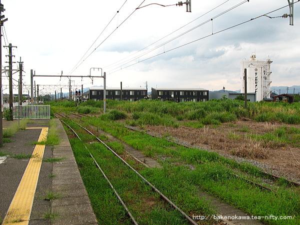 新発田駅の島式ホームその十