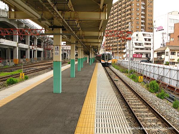 新潟駅の8-9番島式ホームその3