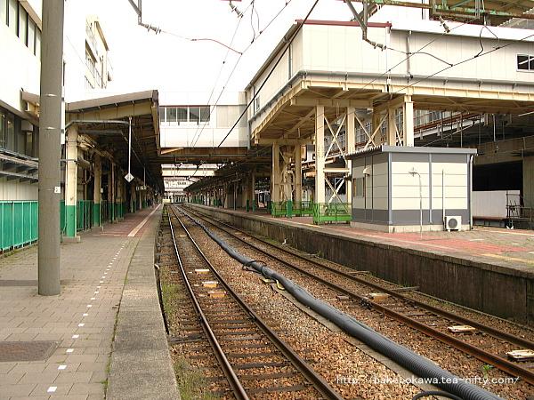 新潟駅の1番線その1