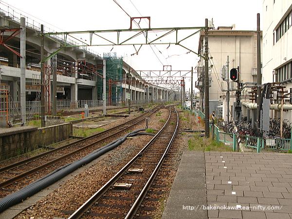 新潟駅の1番線その3
