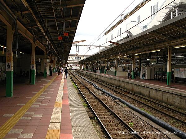 新潟駅の1番線その4